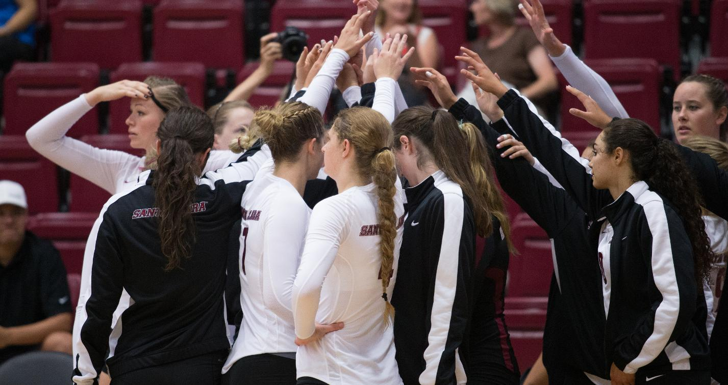 Volleyball Falls In Three At Saint Mary's