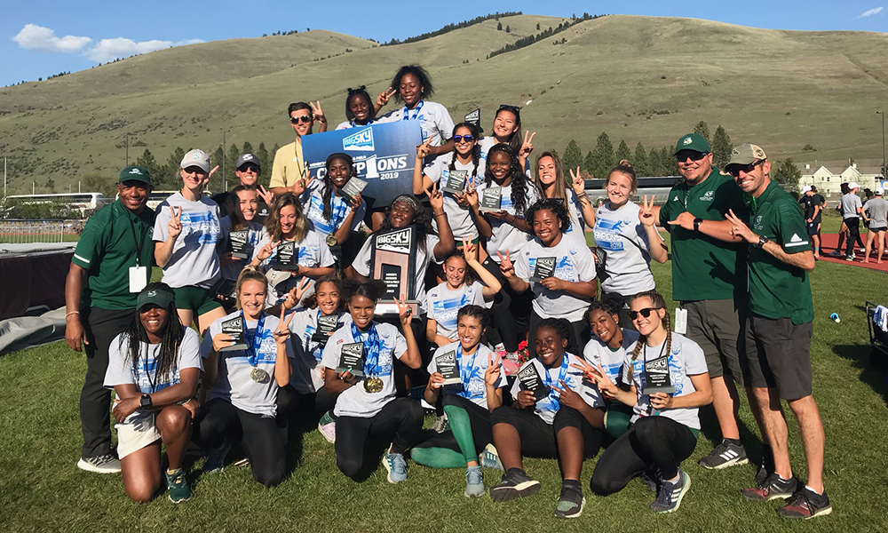 WOMEN'S TRACK AND FIELD WINS BIG SKY OUTDOOR CHAMPIONSHIP