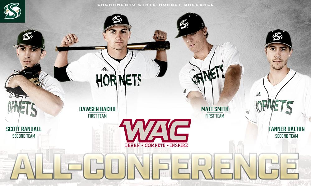 FOUR BASEBALL PLAYERS NAMED ALL-CONFERENCE, INCLUDING TWO FIRST TEAM SELECTIONS