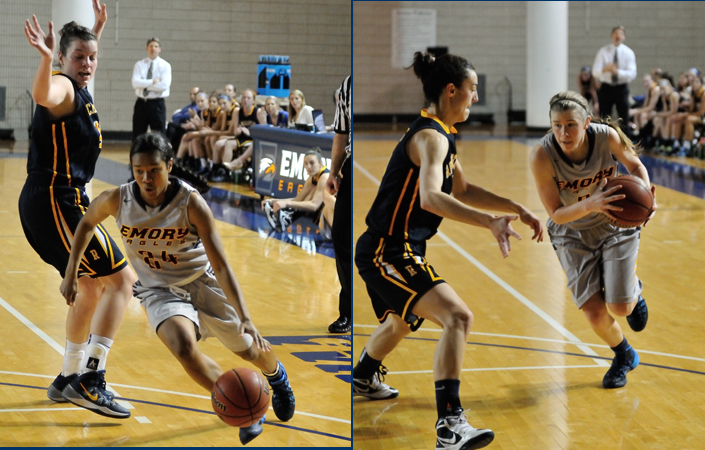 Emory Women's Basketball Hosts NYU & Brandeis In Final Two Regular Season Home Games