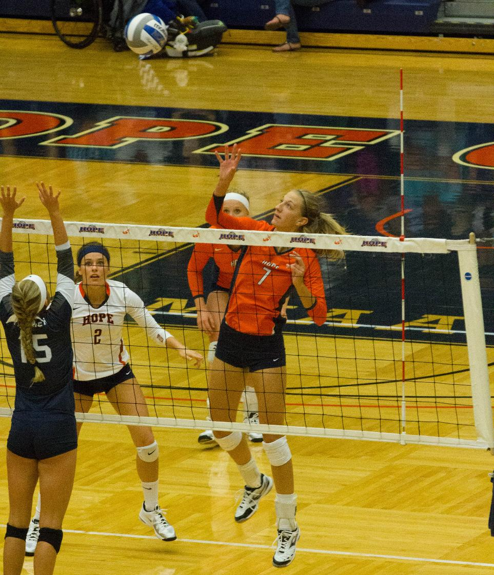 Sports: Hope-Trine Volleyball By Monica Dwyer
