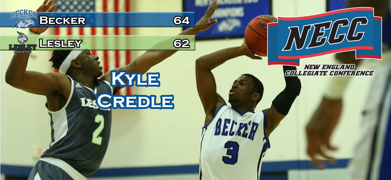 Men's Basketball reaches NECC Finals behind Credle's 29 points