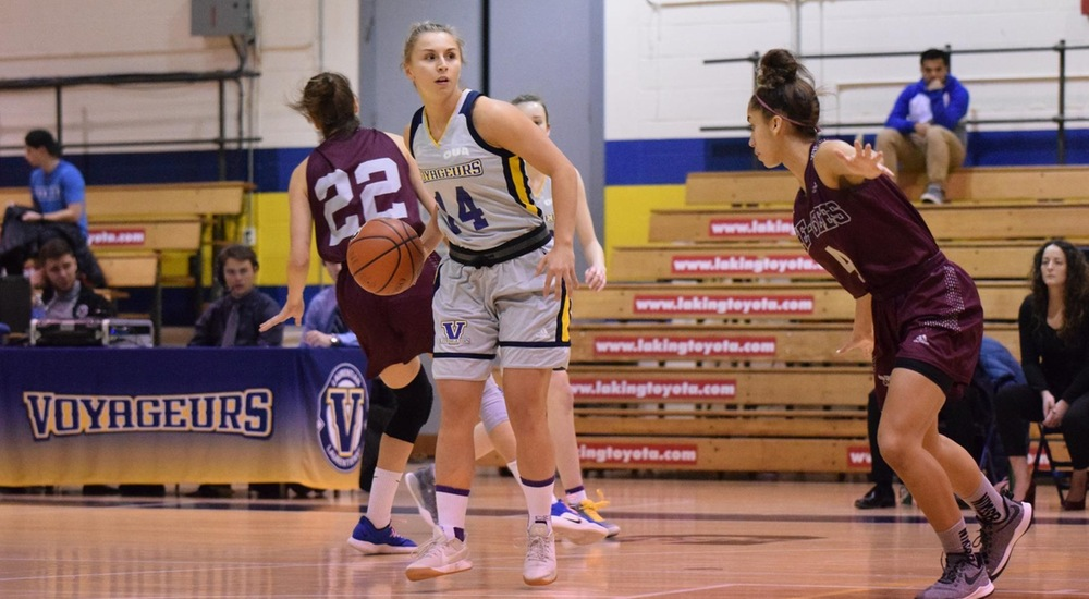 WBB | Voyageurs Fall to Fourth-Ranked Ravens