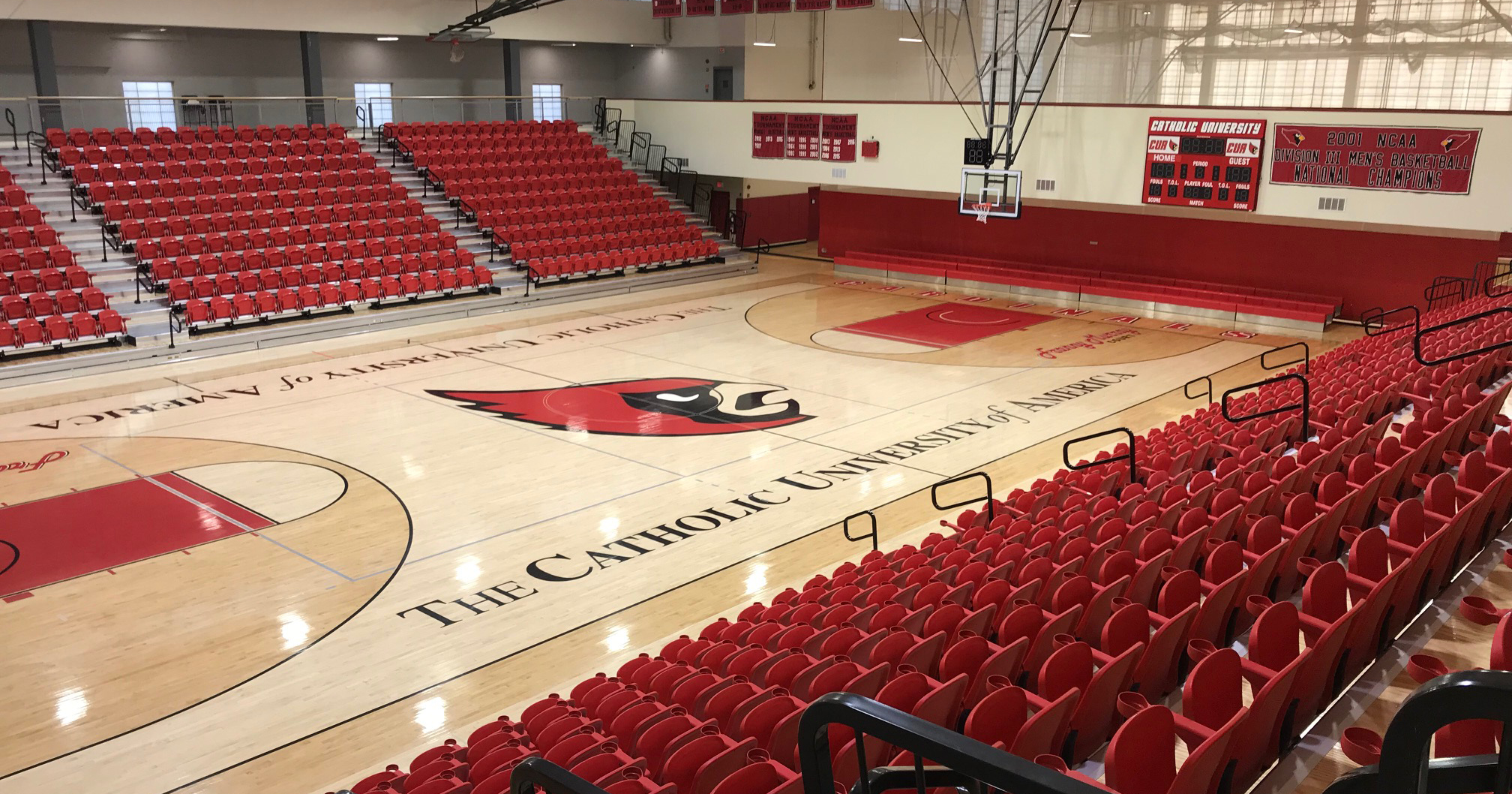 Franny Murray Court Inside DuFour Center Closed April 5-7