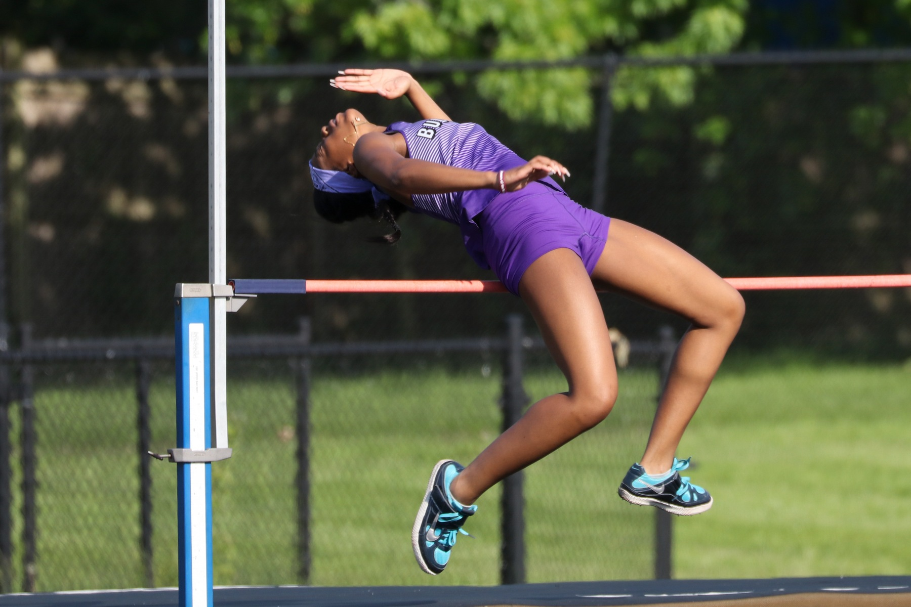Girls Track Falls to Zionsville
