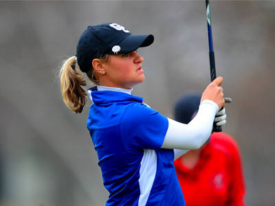 Women's Golf Finishes Third at Lady Blue Devil Shoot Out