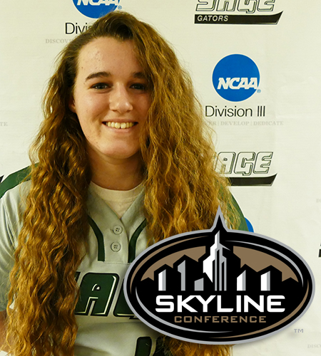 Montague Named Skyline Rookie of the Week