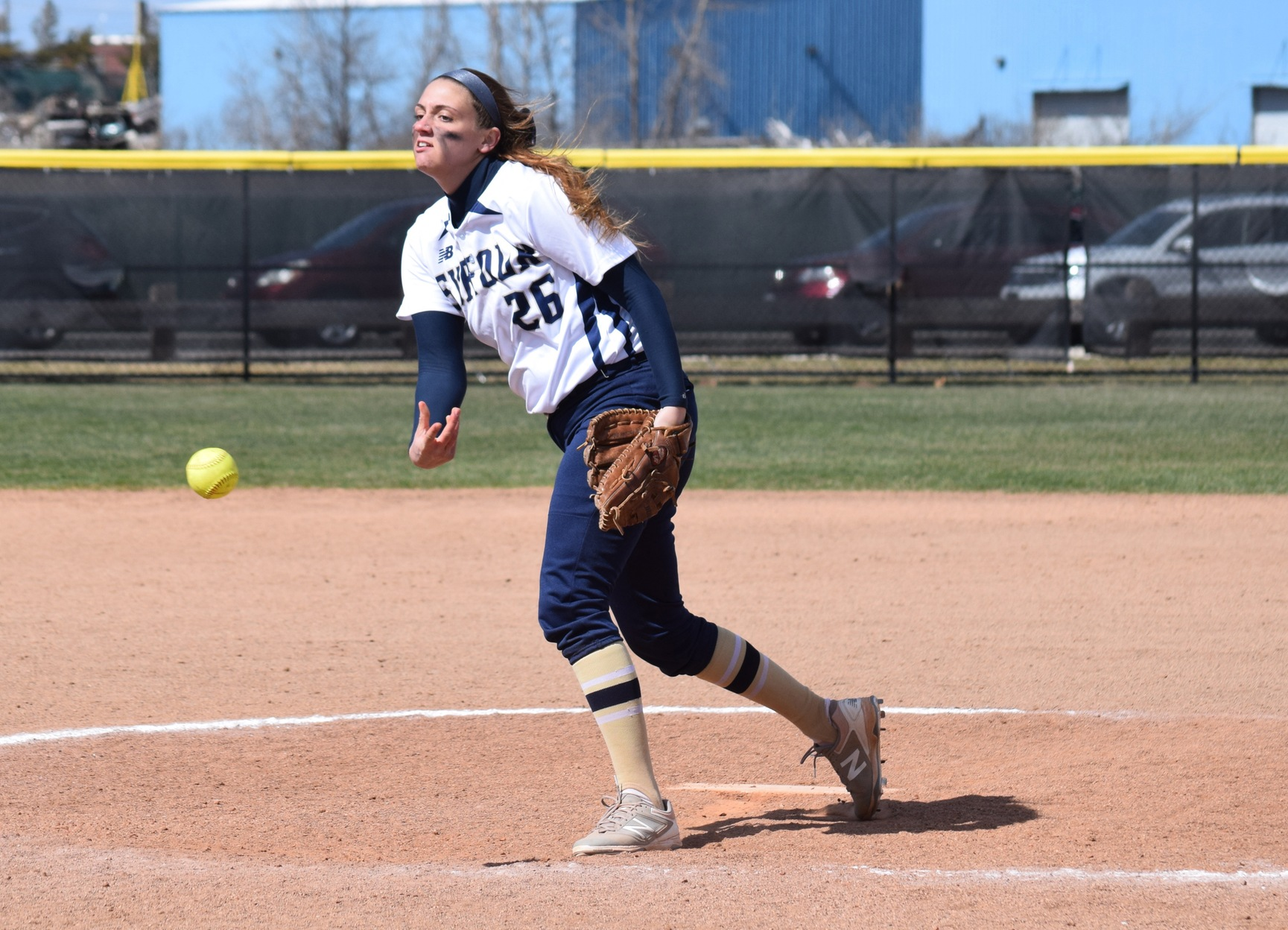 Softball Blanks St. Joseph's (Maine), 4-0, to Open Series