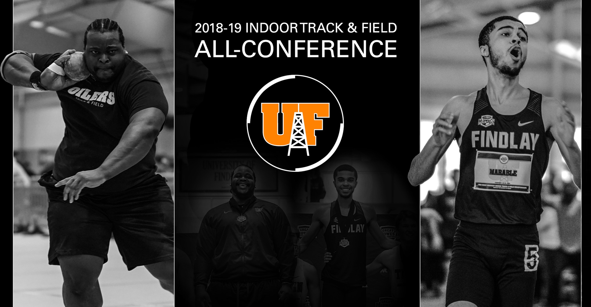 Henry and Marable Highlight Findlay Indoor Track All-Conference Awards