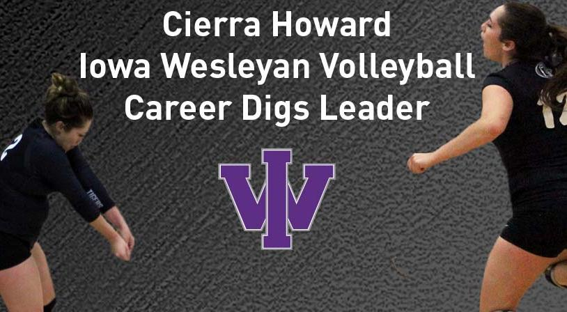 Howard Breaks Tigers Career Digs Record