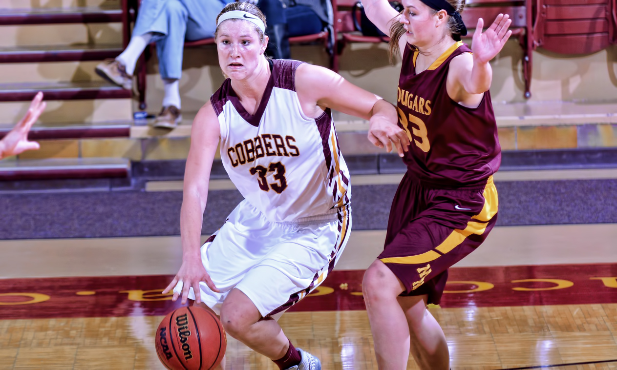 Jenna Januschka had her second straight career scoring night as she knocked down 22 points to help Concordia beat Minn.-Morris 69-58.