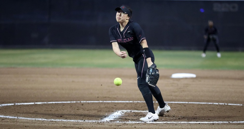 Softball Falls to Army, Has Second Game Suspended
