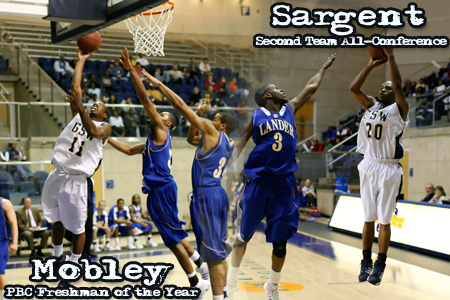 Mobley and Sargent receive Peach Belt honors