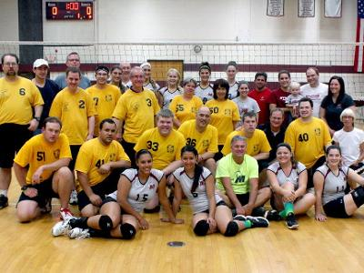 Volleyball Hosts AMBUCS Special Athletic Program Tournament