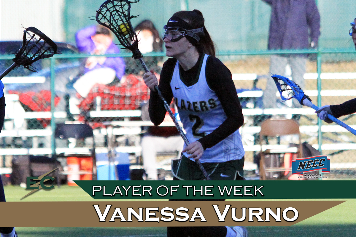 Vurno Captures NECC Player Of The Week Honor After Scoring 100th Goal