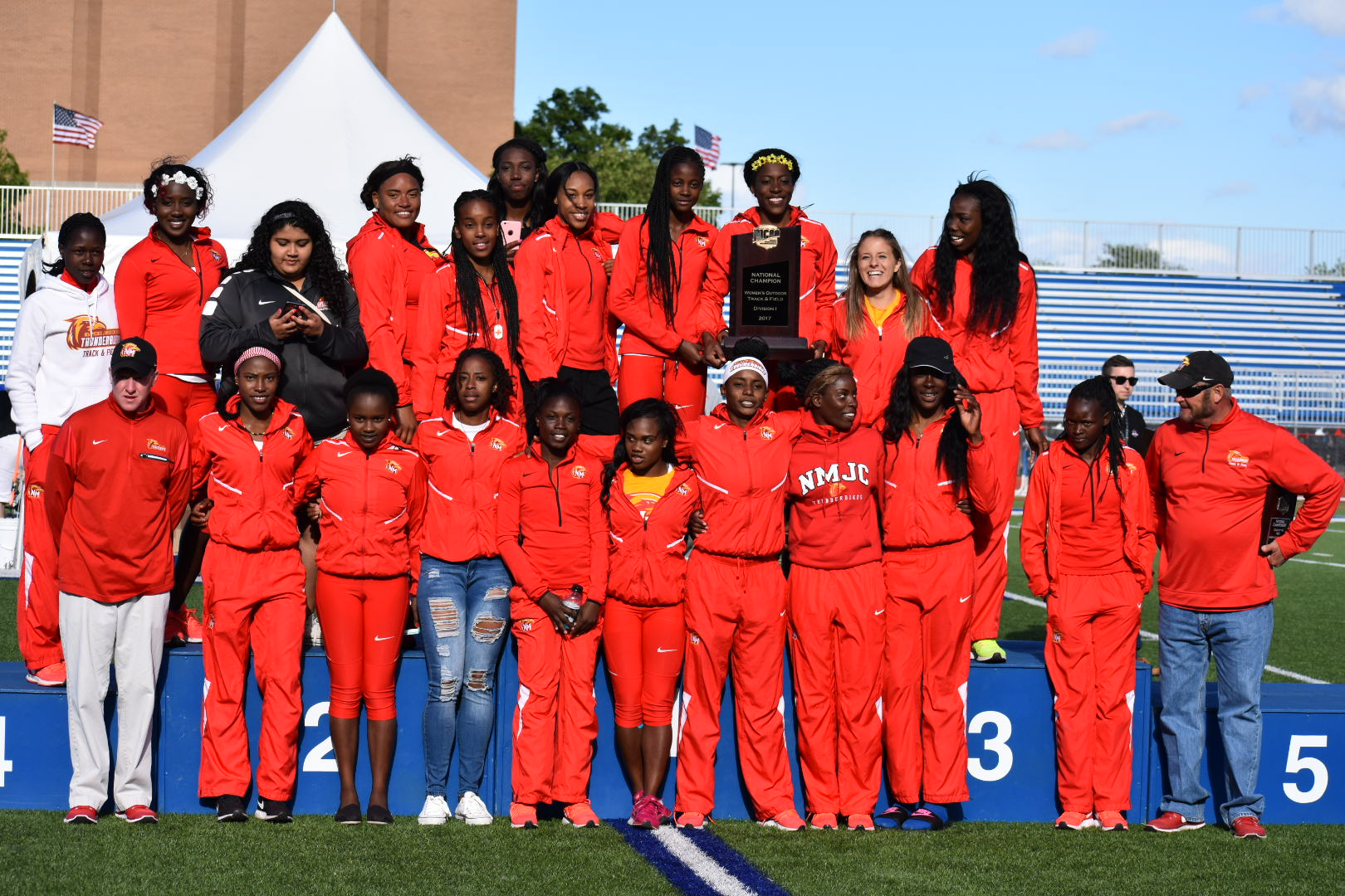 T-Birds Win NJCAA Outdoor Track Championship