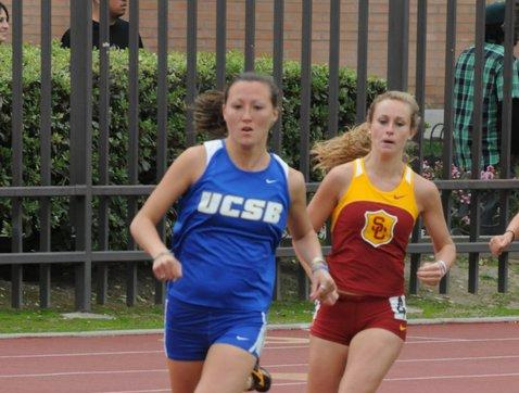Cassie Brooker Runs Life-time Best in 1,500m at Oxy Invite
