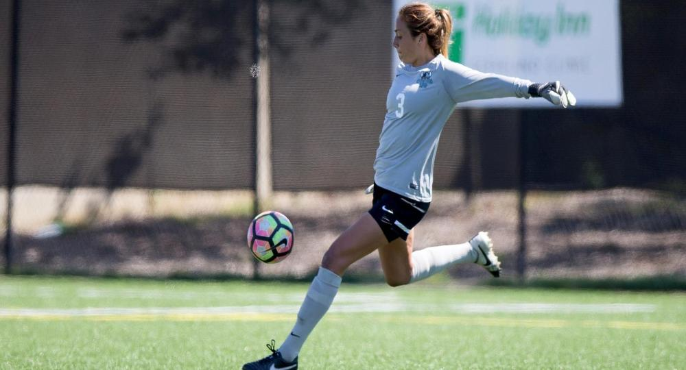Daniels Makes Career-High 13 Saves in 1-0 Setback to Northern Kentucky