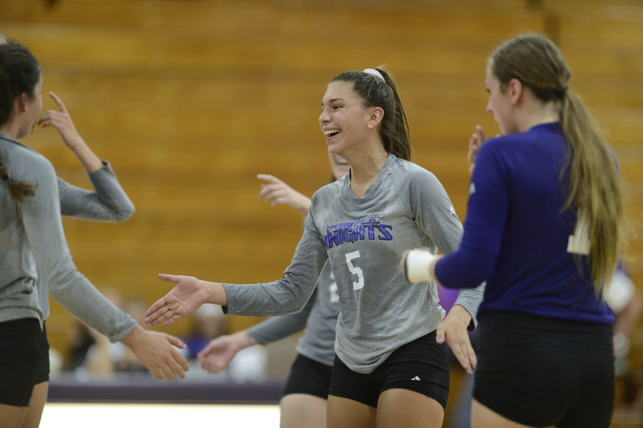 Balanced Offensive Attack Helps UB Volleyball To Four-Set Home Triumph Over LIU Post