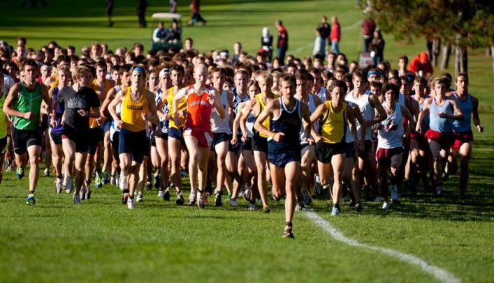 Men's Cross Country Nabs Fifth at Roy Griak Invite