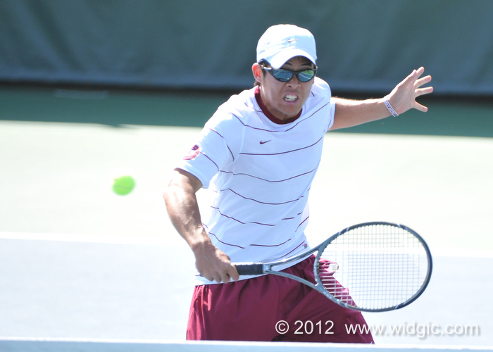 No. 37 Bronco Men's Tennis Rolls 6-1 Over Weber State; Faces BYU In WCC-Opener Saturday