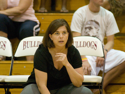 FSU women's volleyball head coach Tia Brandel-Wilhelm and her staff will hold youth training clinics this winter.