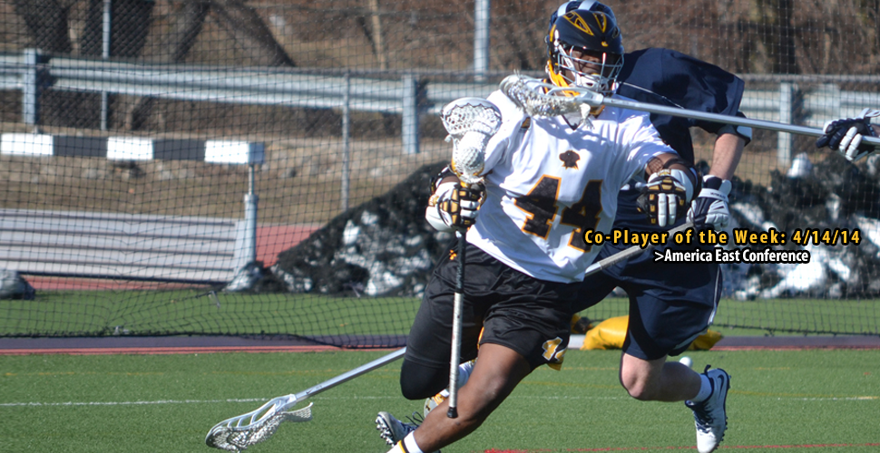 Pat Young Named America East Men's Lacrosse Co-Player of the Week