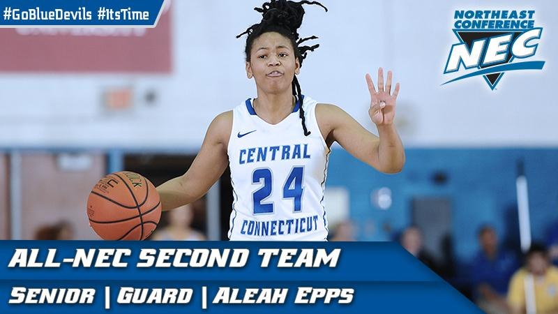 Epps Earns All-Northeast Conference Second Team Honor