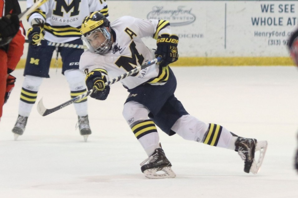 Wolverines roll to series opening win over Warriors