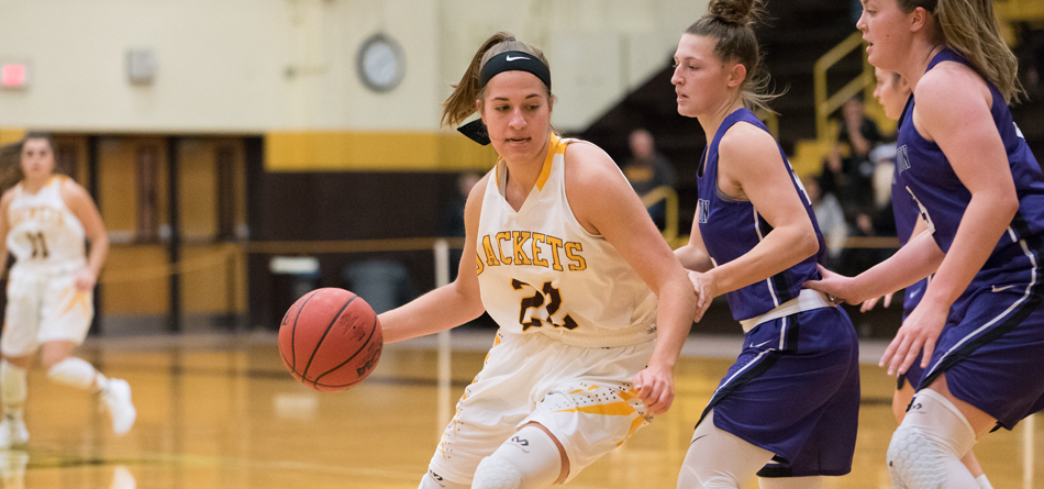 Senior forward Rachel Womeldorf scored 14 points in BW's loss to Marietta