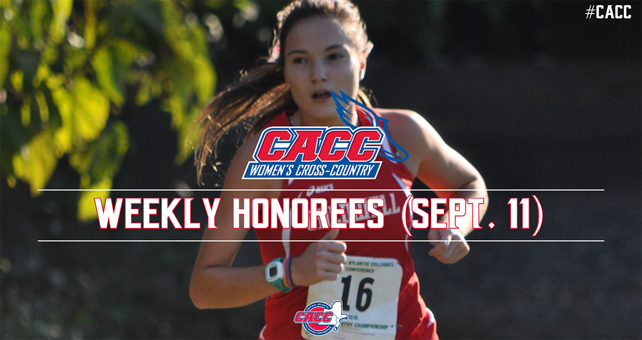 CACC Women's Cross Country Weekly Honorees (Sept. 11)