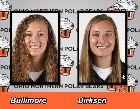 Bullimore and Dirksen lead No. 10 Women's Basketball in 96-73 victory over Muskingum