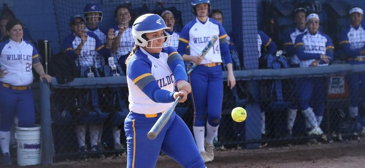 JWU Softball Splits with Moravian and New England College