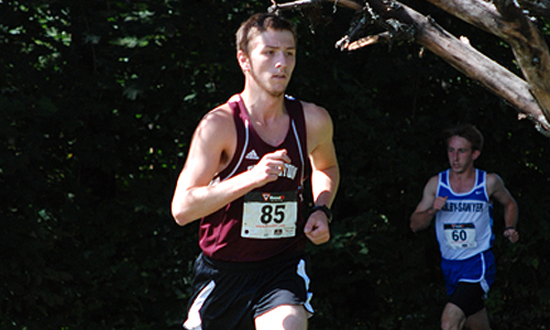 Men's XC finishes eighth at NAC meet
