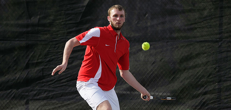 Men's Tennis Road Trip Continues with Centre Win