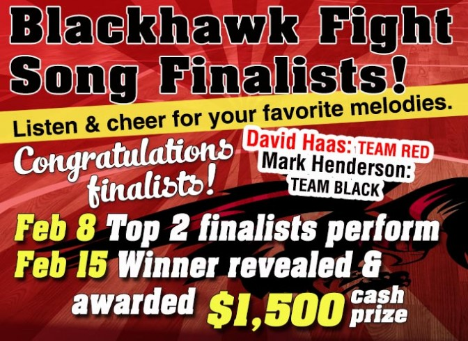 Photo for Blackhawk Fight Song Finalists!