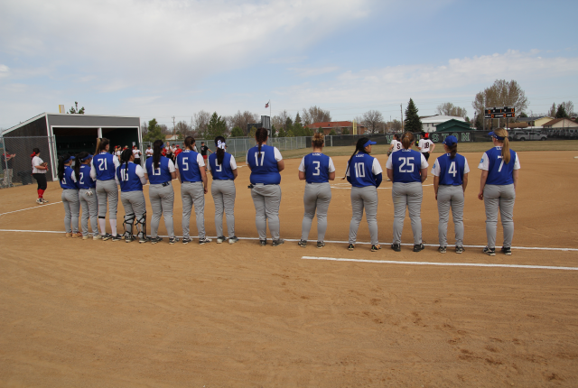 Softball travels to Minot Bubble to kick off season