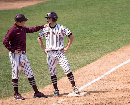 Spartans Split Wild Twin-Bill, Weekend Series with Molloy