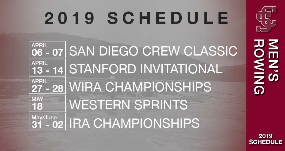 Men's Rowing Announces 2019 Schedule
