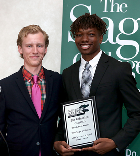 Richardson Named Gator of the Year in Men's Track and Field