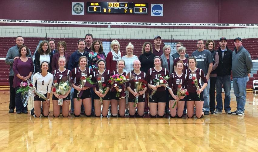 Alma Stays in Playoff Picture with 3-1 Win Over Adrian on Senior Day