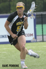 Alicia Krause was one of three Retrievers with three goals against UNH.