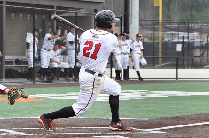 Baseball: Broaderick tosses second straight shutout as Panthers split DH with Covenant