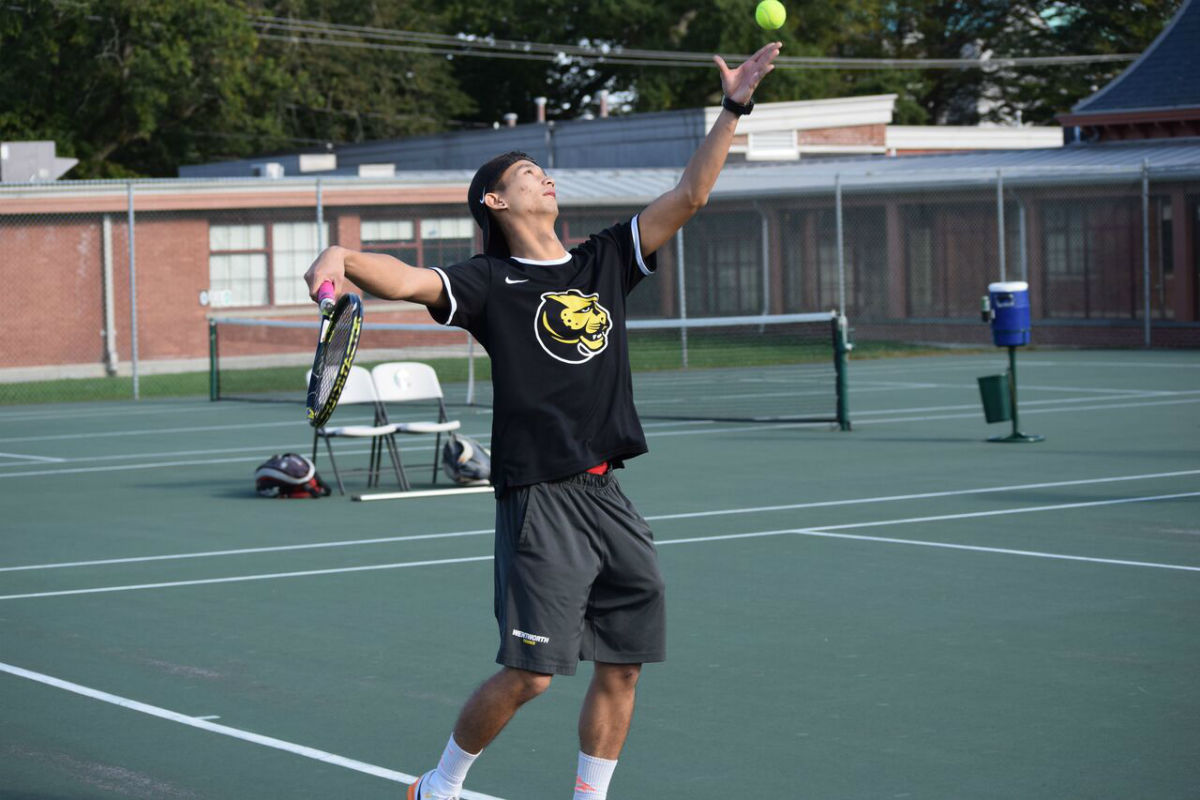 Men's Tennis Rallies Past Salve Regina