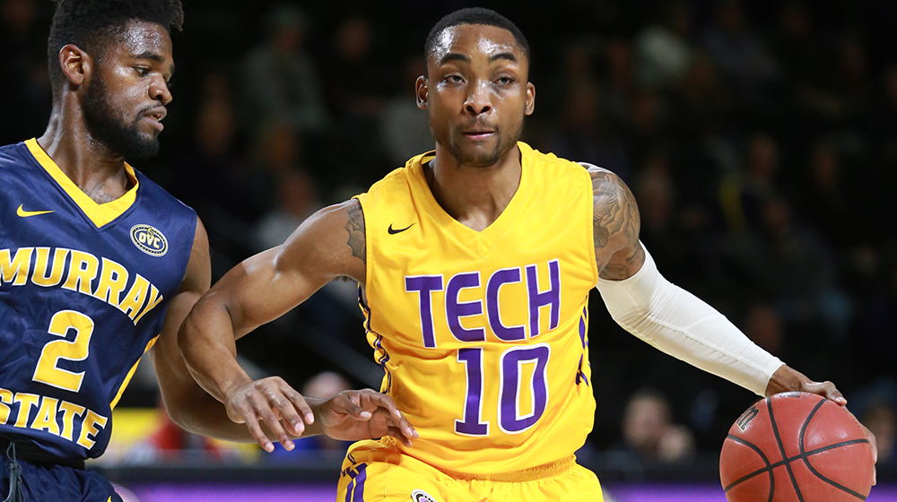 Senior guard Kajon Mack recognized as adidas® OVC Newcomer of the Week