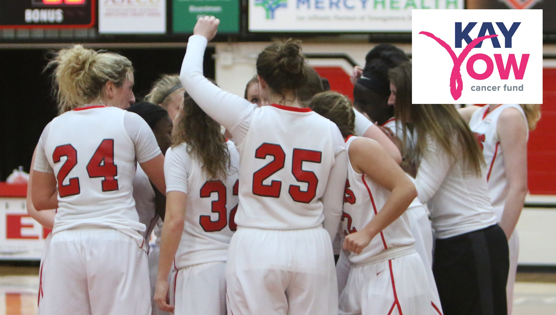 The YSU Women's Basketball will participate in the Play4Kay event on Feb. 18.