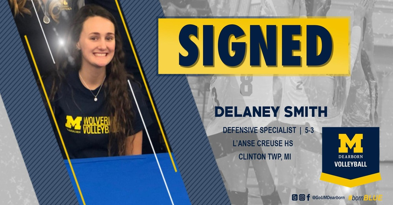 UM-Dearborn Volleyball welcomes Delaney Smith