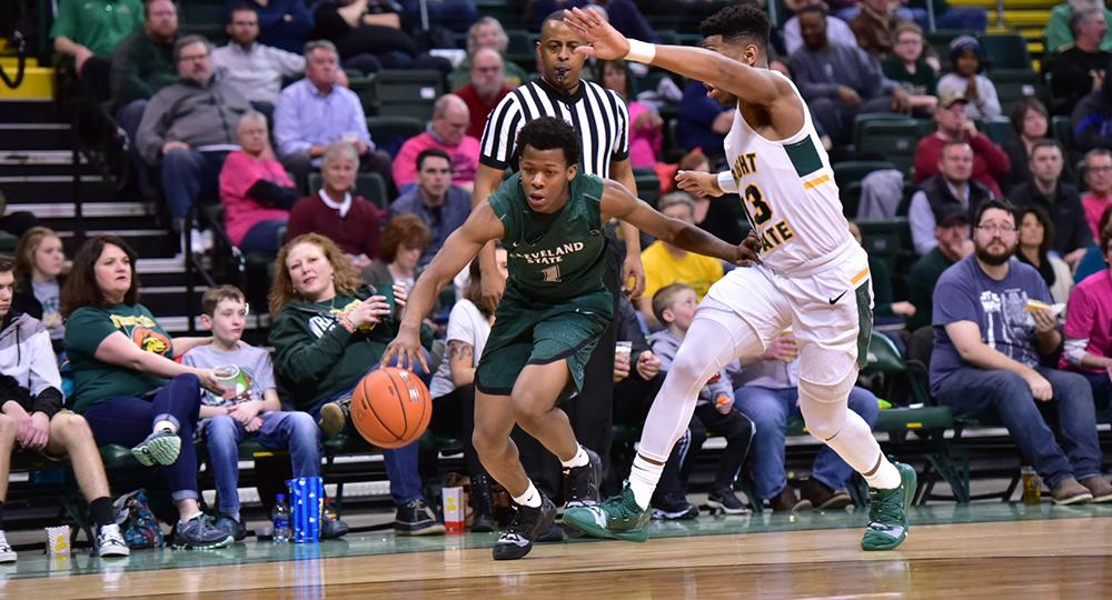 League-Leading Wright State Pulls Away from Cleveland State in Second Half
