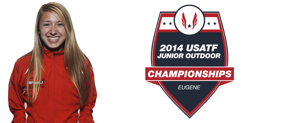 Micale Competes at USATF Junior Championships