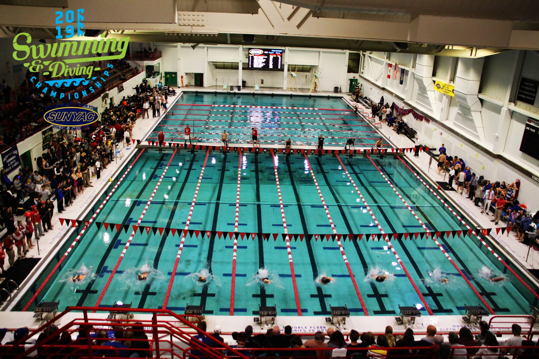 2019 SUNYAC Swimming and Diving Championships